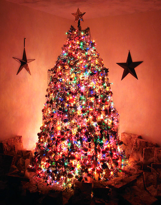 Patsy Terrel S Tree Gets A Lot Of Attention Here In