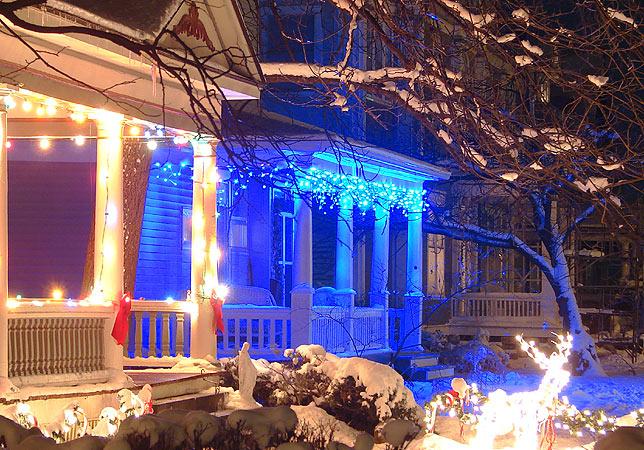 more christmas color fun since led christmas lights