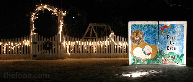 The Lope: Hutchinson Kansas Christmas Lights