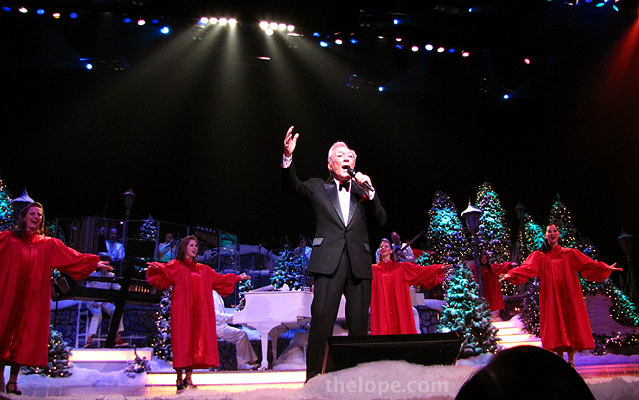 andy williams had enough of a classic tv retro appeal to overcome my avoidance of branson those of us who revere googie architecture boomerang formica - Andy Williams Christmas Show