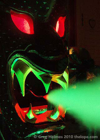 elaborate halloween dragon masks