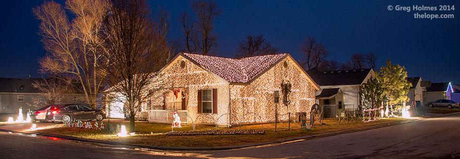 The Lope Oronogo MO Christmas Lights 2015 - Christmas Lights Wichita Ks
