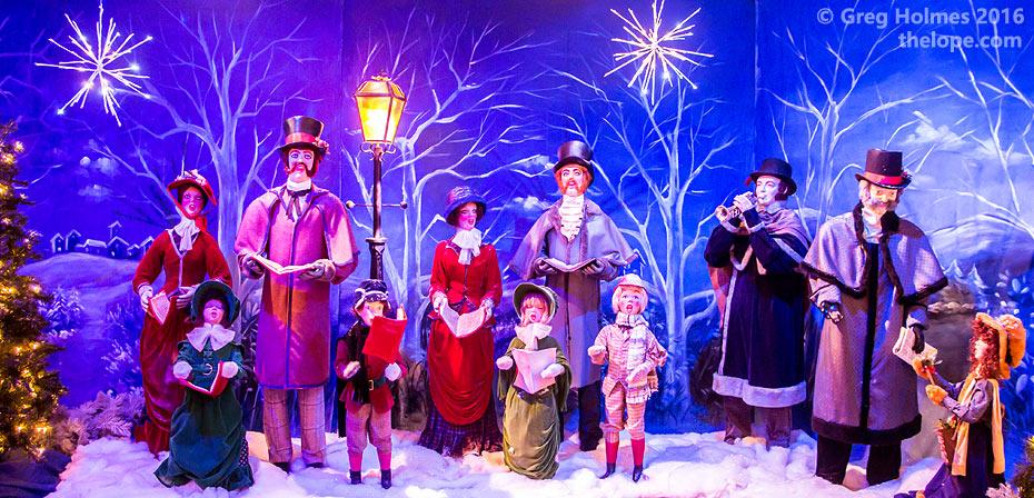 Christmas Land.The Lope Kringle S Christmas Land