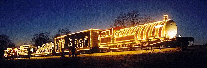 The Kansas City Southern S Holiday Express Starts The